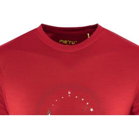 Meru Tumba Camiseta Lana Manga Corta Hombre, barbardos cherry